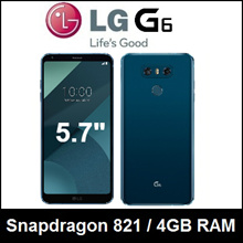 LG G6 | 4GB RAM | 32GB ROM | Android 8.0 | Snapdragon 821 | Dual 13MP Camera | Refurbish