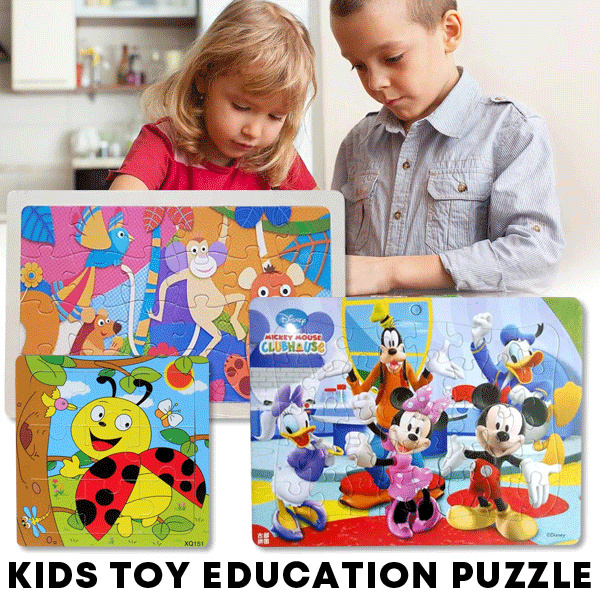 Kids Toy Education Puzzle Deals for only Rp9.500 instead of Rp9.500