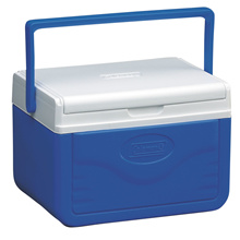 Coleman Fliplid 6 Personal Cooler Outdoor Picnic Camping Hiking Cooler Box (Blue)