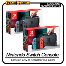 Best Seller! Nintendo Switch Console System Grey | Neon Red/Blue. Local Sets and Maxsoft 1 Year Warranty!