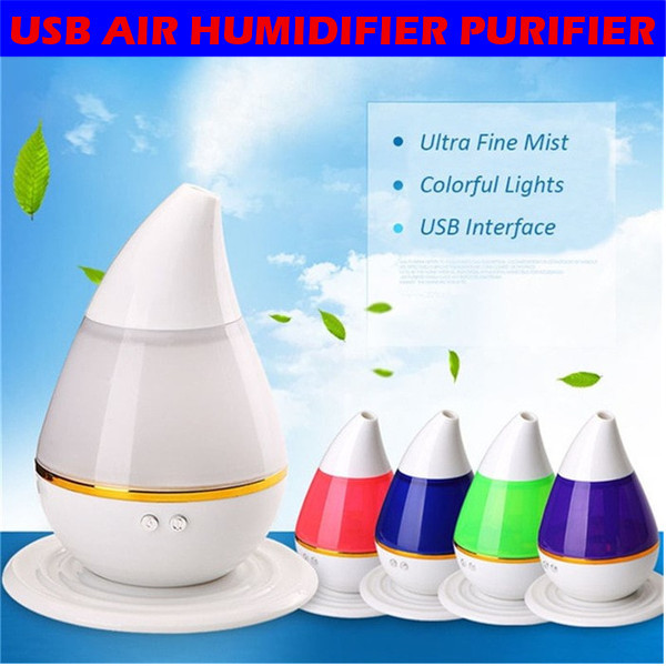 HH104 Alat Pelembab Ruangan USB Air Humidifier Purifier Mobil Kantor Deals for only Rp160.000 instead of Rp160.000