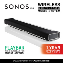 Sonos Playbar Wireless Soundbar International Warranty