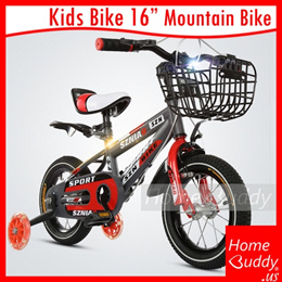 KIDS Bicycle 16inch (kids 105-135cm) 12inch (kids 80-110cm)_ DIY or Assembled_ READY Stocks SG_