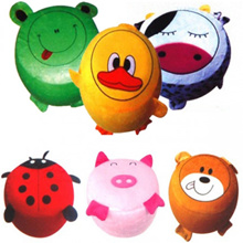 FREE Shipping★Animal Air cushion★ Comfortable chairs / Infant Air sofa / Air stool / Characters chai