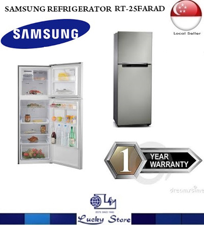 Qoo10 - SAMSUNG RT25FARAD 2 Door Fridge * 255 L * Digital