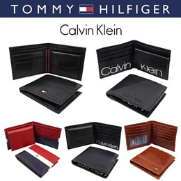 Tommy Hilfiger / Calvin Klein Wallet / 13 Type / Wonder Box / Qoo10 Promotion