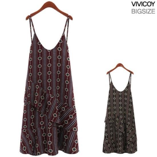 ビビ己斐ルルワンピースRO 綿ワンピース/ 韓国ファッション