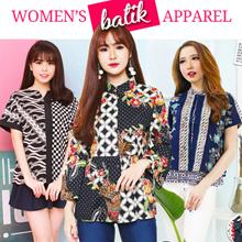 [FREE SHIPPING] Evercloth Batik Collection Blouse / Dress / Cullote / Skirt / Jumpsuit / Cheongsam