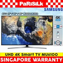Samsung UA43MU6100KXXS / UA49MU6100KXXS / UA55MU6100KXXS / UA65MU6100KXXS UHD 4K Smart TV MU6100
