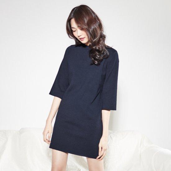 ナインNAINHフィットミラノニット・ワンピースOP3186 面ワンピース/ 韓国ファッション