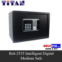【TITAN】Brit-2535 Intelligent Digital Medium Safe {Suitable for home and office use}