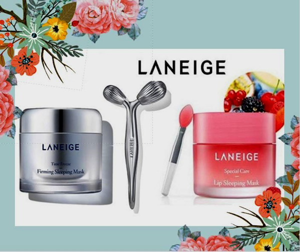 Paket LANEIGE Time Freeze Firming Sleeping Mask 15 ml and Lip Sleeping Mask 3 gr Deals for only Rp165.000 instead of Rp165.000