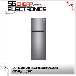 LG GT-B3127PZ 2 Door Refrigerator (312L) - Local Singapore warranty