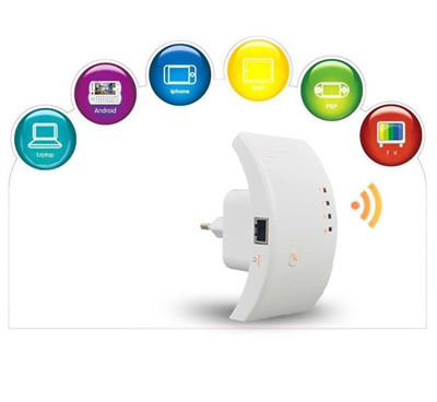 Wireless Wifi Repeater Network Router Range Expander Antennas Signal Booster
