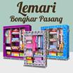 BUY 2 PCS FREE SHIPPING JABODETABEK * Lemari Bongkar Pasang / Wardrobe Rack 2/3 Sisi/Cloth Rack/Lemari Pintu Single/Rak Baju