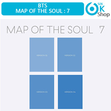 BTS MAP OF THE SOUL 7 (All Package + Preorder Poster) [4 Version]