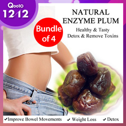 12.12 Special! [BUNDLE OF 4] Health Forest - Enzyme Plum 80g | TAIWAN NO.1 PLUMS