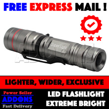 [FREE EXPRESS MAIL] Super Bright CREE LED Torchlight Flashlight lights BICYCLES BIKE LIGHT