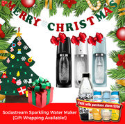 【Sodastream】Sparkling Water Maker - Transform ordinary tap water into fresh great-tasting soda!