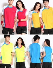 Badminton Jersey and Short Pants set for Women and Men 812