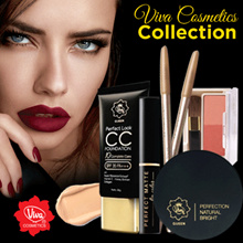 Viva Cosmetics - Eyeliner - Eyebrow - Blush on - Compact Powder - Face Powder