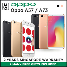 Oppo A57/A73  Local 2yrs Official Warranty / 3gb ram / 32gb rom / Cases and Screen Protector Include