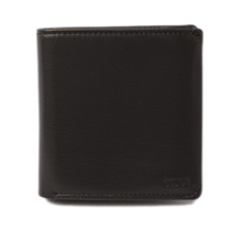 Tumi purse TUMI fold wallet / compact flip CHAMBERS 012646D black unused [pre]