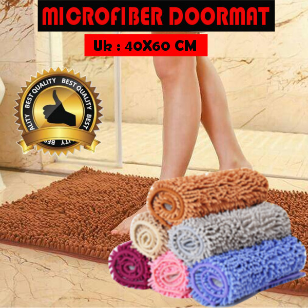 [ BEST QUALITY ] MICROFIBER DOORMAT Deals for only Rp23.000 instead of Rp23.000