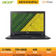 Acer A515-51G-87AJ Laptop - i7-8550U  15.6 inch  FHD IPS  W10  4GB  1TB+128GB SSD