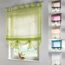 Rome Lift Curtain Kitchen Balcony Foating Curtain