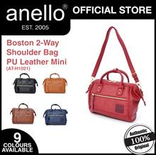ANELLO (AT-H1021) BOSTON 2WAY SHOULDER BAG PU LEATHER MINI