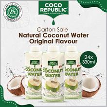 Coco Republic Coconut Water 24 x 330ml