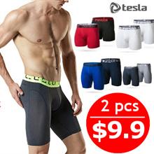 [SPECIAL OFFER]★TESLA Mens Brief 2 in 1★ Underwear / Sports / inner wear / Mesh fabric