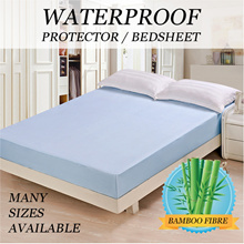 EQMumBABY bamboo fibre TPU waterproof bed protector water proof mattress changing mat Fiber
