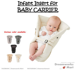 Infant Insert Baby Carrier [0 to 6 Months] [Local Seller | Ready Stock]