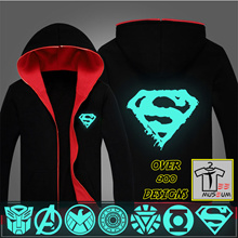 [Tee Museum] Luminous Jacket | Hoodie | Sweater | Superheroes | One Piece | Marvel | DC | Avenger