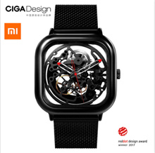 [12.12 Buy 2 use coupon $60]Xiaomi Mijia MI CIGA Design Hollowed-out Mechanical Wristwatches Watch Reddot Winner Stainless
