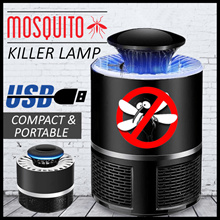 ♥2018♥Mosquito Killer Lamp♥Safe♥Chemical Free♥Compact♥Portable♥USB Powered♥Powerful♥Effective♥