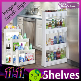 ◆Movable slim Japanese style KITCHEN SHELF  ◆ Christmas/rack shelf in sink/Movable shelf/ kitchen