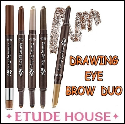 [ETUDE HOUSE] 2015 New Drawing Eye Brow Duo 4 Color 0.3g*0.5