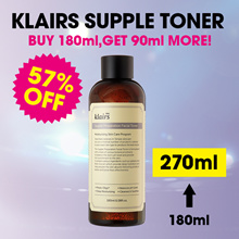 [KLAIRS] Supple Preparation Facial Toner + Free 3 mini toner  / moisturizing toner