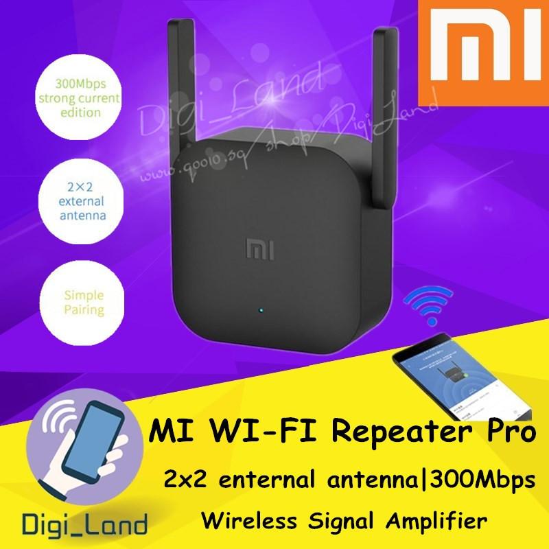 Mijia[100% Original] Xiaomi 300Mbps 2 4G Extender Roteador Wireless Signal  Amplifier Mi WiFi Repeater Pro