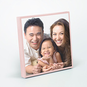 "Personalised 8""x 8"" Mini Square Canvas from Photobook Malaysia"