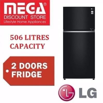 LG GT-T5107BM 506L 2 DOOR FRIDGE / REFRIGERATOR / LOCAL WARRANTY