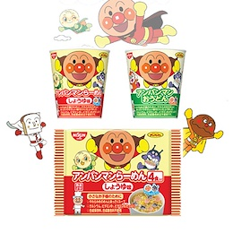 일본 닛신 호빵맨 컵라면 앙팡맨 봉지라면
