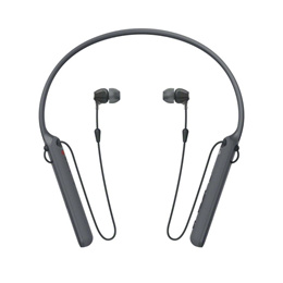 Sony WI-1000X Premium Wireless Noise Cancelling Behind-the-Neck Headphones (black/gold)