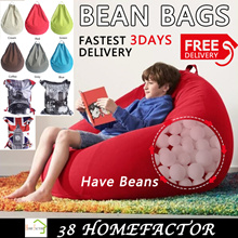 BeanBag Sofa Premium Quality Bean Bag Chair Cosy Soft Cushioning Bedding / Floor Chair/ Sofa /Bed
