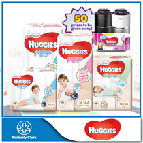 [Use Coupon $12 OFF!] [HUGGIES] Platinum Diapers - available in all sizes