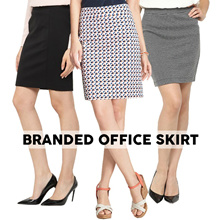 [New Arrival] Women Office Skirt_7 Style_7 Colors_Casual Skirt_Fashion and Apparel