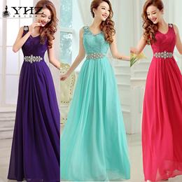 Elegant Sheath/Column V Neck Sleeveless Floor Length Evening Dress
